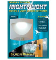 mighty light indoor - NEW Mighty Light Indoor or outdoor White Motion Light Sensor Activated Light led