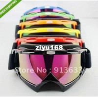 Wholesale In stock Ski Snowboard Snowmobile Motorcycle Goggles Off Road Eyewear Colour Lens T815