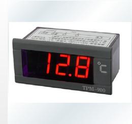 Измеритель температуры панели Онлайн-Бесплатная доставка 1 шт новый 220 Цифровой измеритель температуры Светодиодная панель с датчиком