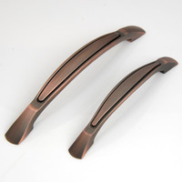 Wholesale 128mm Antique copper cabinet handle Zinc alloy Drawer knob and pull dresser pull