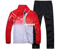 Wholesale Li Ning badminton clothing autumn and winter male and female models new sports suits fashion badminton sets