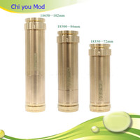 stainless,gold mechanical mod 1-3days High Quality Mechanical Chiyou Mod  Clone Chi You Mod 18350 and 18500 chi-you Mod Ecigarette