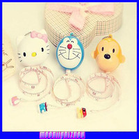 Wholesale Automatic retractable tape measure three dimensional cartoon character cute mini tape jingle soft feet