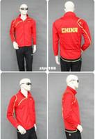 Polyester jacket team - New Li Ning badminton team clothing autumn clothes men and women long sleeved jacket fashion badminton jackets