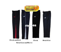 Men badminton sportswear - New Butterfly badminton clothing cotton trousers for male and female table tennis sportswear fashion badminton pan