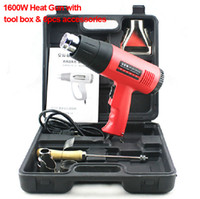 Wholesale 1600W Hot air Gun with tool box electric power tool heat air gun Hot gun