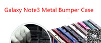 Cheap Metal note3 case Best For Samsung For Christmas note 3 bumper case