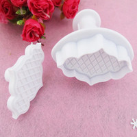FDA bamboo fencing wholesale - Free shiping set Cake Cookie Press Print Bamboo fence spring Moulds Toast Bake Bakery Tools