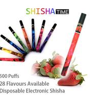 Electronic Cigarette Set Series  2014 Newest design Disposable electronic cigarettes e-hookah portable e-shisha pen 500 puffs 800pcs