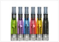 CE5 + atomizador No Wick cigarrillo electrónico colorido reemplazable cartomizer 1,6 ml 8 colores Sin fugas CE5 + E-cigarrillo Clearomizer
