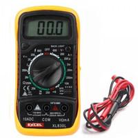 Wholesale Piece New Digital LCD Multimeter Voltmeter Ammeter Ohmmeter OHM VOLT Tester XL L