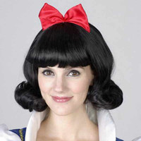 Wholesale Cosplay party Halloween Christmas Wigs children s wig Snow White