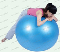 Wholesale LLFA3006 Best Selling cm Stability Exercise Yoga Gym Fitness Ball Explosion proof Pregnant woman Fitness ball