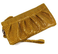 Wholesale women bagsWholesale leather leather Miss Qian Bao processing agent handbag clutch evening bag cosmetic baghandbag