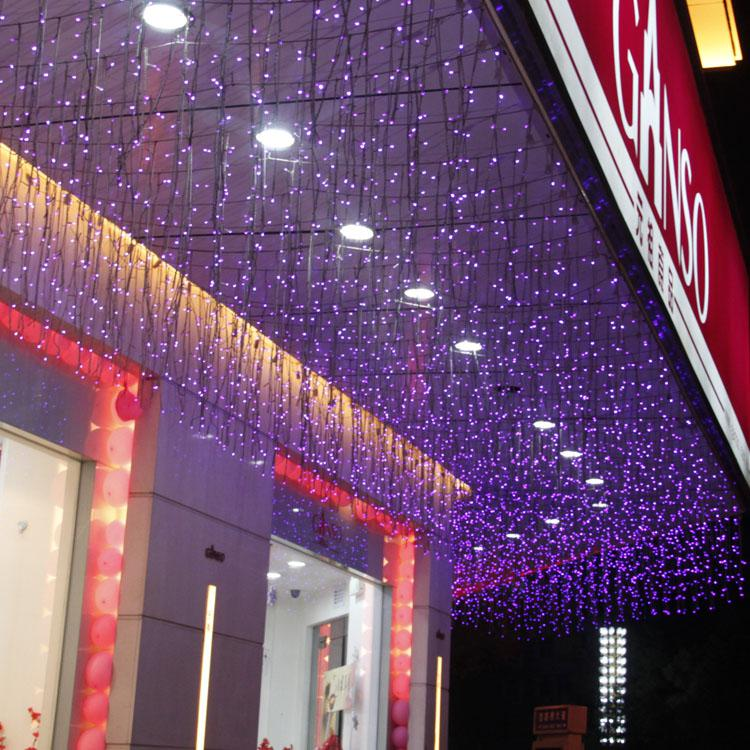 Led Icicle Lights New Window 1 5m Store Decoration Christmas Holiday Lights Decorative Lights