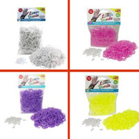 Wholesale Loom Rubber Bands pc Glow in The Dark Rubber Band Refill Pack