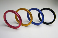 Steel   50pcs Men Cock Ring Stainless Steel Chastity SM Fetish Ejaculation Delay Sexy Bondage Toy 3 Size Choose Male Penis Chastity Ring A049