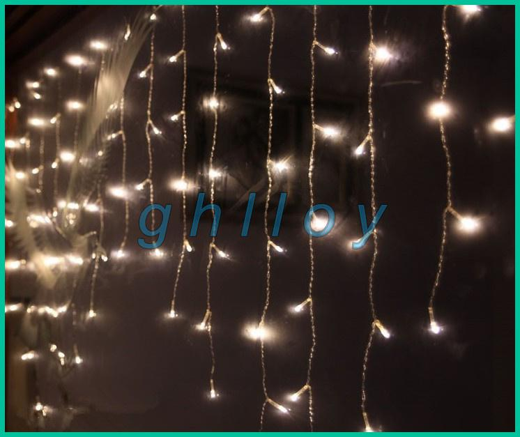 Cheap 2*1m 104 Icicle Beads Led Strings Lights Supernova Sale Garland Curtain Chandelier For ...