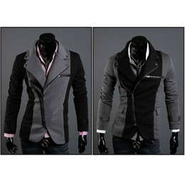 Wholesale New Top Design Mens Casual Sexy Slim Fit Blazers Coats Suit Jackets Color W