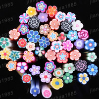 Wholesale F03 Flower Nail Art Fimo Canes Sticks Rods Stickers Decoration