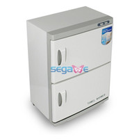 Best Lower Price Dual Cabinet Hot Towel Warmer Disinfection UV Sterilizer Machine 46L HOME SPA F1