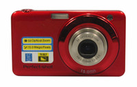 Wholesale Digital Camera MP x Optical zoom x Digital zoom DC670 inch TFT LCD Screen Cameras Anti Shake Smile Capture