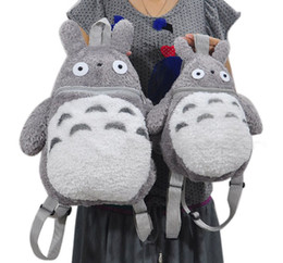 Wholesale Fashion and Comfortable Plush Doll Totoro Backpack styles