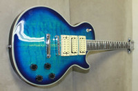 Solid Body blue guitar - 2007 radiant blue ACE FREHLEY CLASSIC CUSTOM LPC3 electric guitar