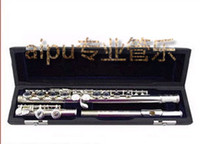 Wholesale Aipu material silver plated c flute
