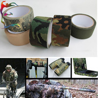 Wholesale M army insulated cotton adhesive tape camo camouflage fabric tape great for hunting air rilfes airsoft
