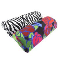 Wholesale New Soft Sponge Zebra Stripe Flower Hand Rest Cushion Pillow Nail Art Design Manicure Tool Fashion T520