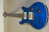 Solid Body blue guitar - Custom Royal Blue Electric Guitars
