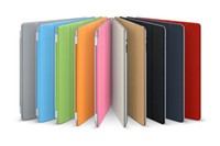 Wholesale Smart Cover Magnetic Case for Ipad ipad2 New ipad ipad3 iPad Tablet PC Stand Sleep Wake UP with retail bag