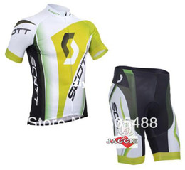 Wholesale 2013 NEWS Polyester pad COOLMAX green Cycling wear racing apparel sportwear short sleeve jersey shorts K0345