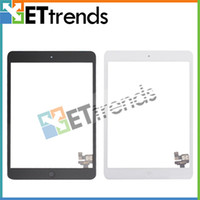 Wholesale Black White Touch Screen Digitizer Full Assembly with IC Home Button for iPad Mini Low Price AA0082