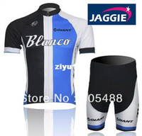 apparel giant bikes - 2013 NEW pad COOLMAX Polyester black GIANT bicycle apparel Cycling wear bikes wear short sleeve jersey shorts