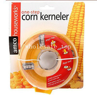 Cinnamon & Chocolate Mills corn husk - HOT Convenient and efficient corn thresher stripper corn kerneler husking unit Kitchen utensils