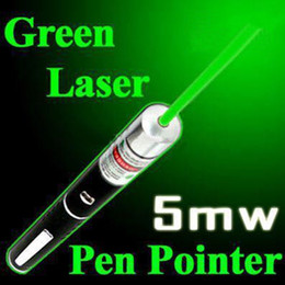 Wholesale Best quality mW nm Green light Beam Laser Pointer Pen For Mount Night Hunting teaching in meeting