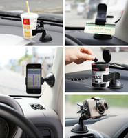 Wholesale Fashion Hot Universal Car Windshield Mount Holder Bracket for Mobile Phone MP4 MP5 GPS