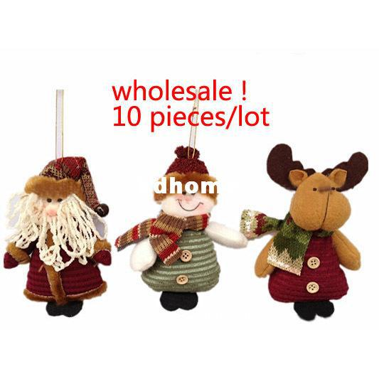 Wholesale 6 Indoor Christmas Hanging Ornaments Decoration