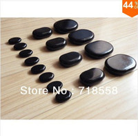 Wholesale hot sale stone mini massage stone set skin relief massager spa hot rock stone