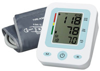 Wholesale Medical Supplies New Arm full automatic blood pressure monitor Heart Beat Meter With LCD Display