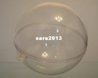 Wholesale clear plastic balls or transparent christmas ball or plastic capsules diameter mm transparent type