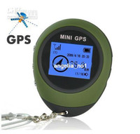 Wholesale Mini GPS Receiver Tracker Location Finder Keychain