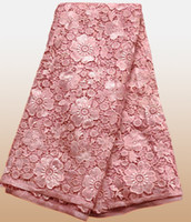 Wholesale High Grade Chemical French Lace Swiss Voile Lace African Lace Fabric wedding Apparel