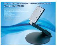Wholesale WS DZ03B Professtional VESA stand metal touch monitor stand POS monitor stand