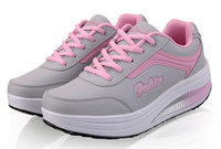 Wholesale New Shook Shoes Sports Shoes Thick Bottom Sponge Cake Slope With Low Shoes Women Running Shoes NKGT8372