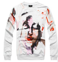 Wholesale GIV Hot New Men s Personalized Graffiti Pattrn Hoodie Man s Clothes Outwears Man Abstract Printed Sweatshirt B1946