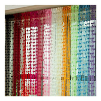 Wholesale 12 Colors cm L x cm W Heart Panel Line String Tassel Drape Curtain for Wall Door Window Vestibule