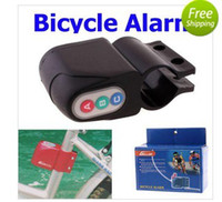 Wholesale LLFA3013 Excellent Security Alarm Security Bicycle Steal Lock Bike Bicycle alarm with Retail Packaging